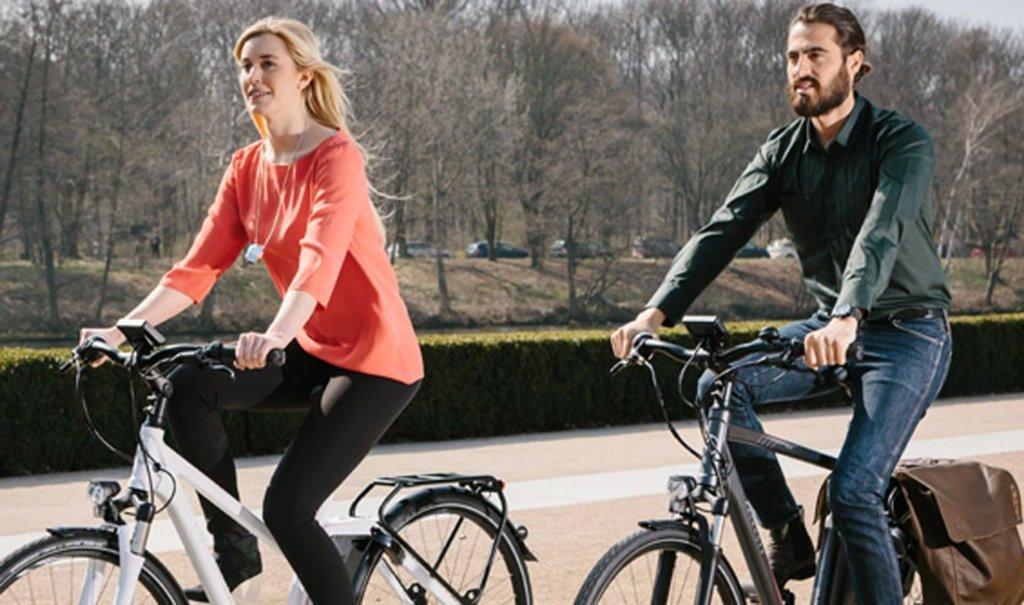 Cykling er populært